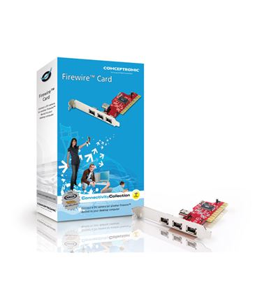 TARJETA CONCEPTRONIC PCI IEEE 1394 FIREWIRE 1394 - CONCEPTRONIC PCI IEEE 1394