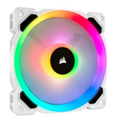 VENTILADOR CAJA CORSAIR LL120R RGB 120MM BLANCO