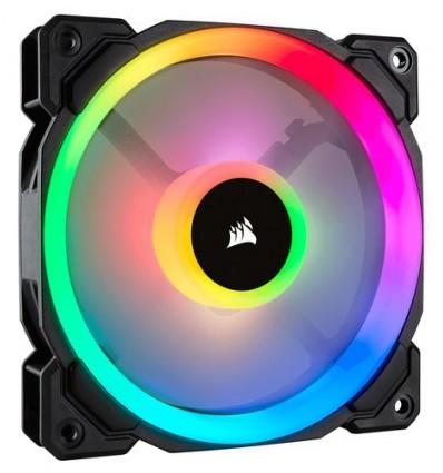 VENTILADOR CAJA CORSAIR LL120R RGB 120MM NEGRO