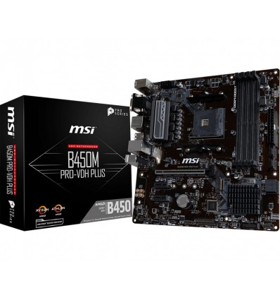 PLACA BASE MSI B450M PRO-VDH PLUS SOCKET AM4
