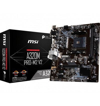 PLACA BASE MSI A320M PRO-M2 V2 SOCKET AM4