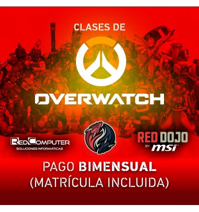 CLASES OVERWATCH RED DOJO BY MSI PAGO BIMENSUAL