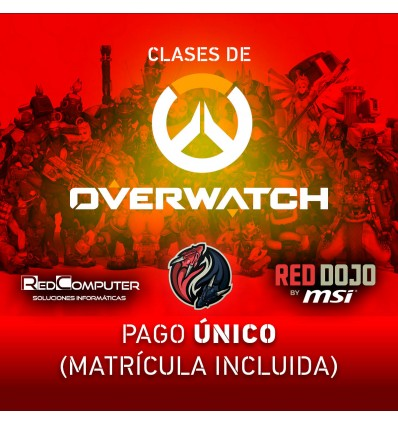 CLASES OVERWATCH RED DOJO BY MSI PAGO ÚNICO