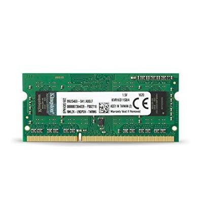 MEMORIA KINGSTON 4GB DDR3 1600 KVR16S11S8/4 SODIMM