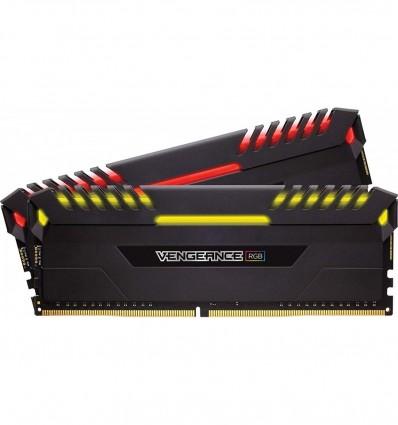 MEMORIA CORSAIR 16GB DDR4 3200 (2X8GB)RGB