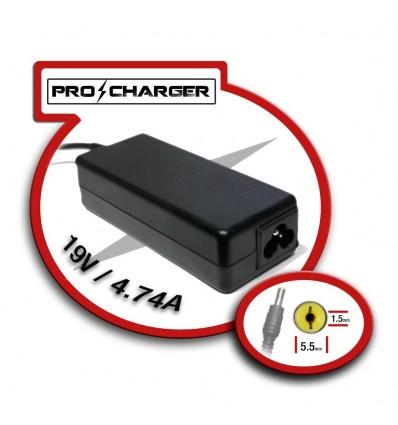 CARGADOR PRO CHARGER ACER 19V 4,74A 90W