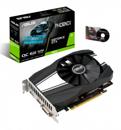 GRAFICA ASUS PHOENIX GTX1660 6GB PH-GTX1660-O6G